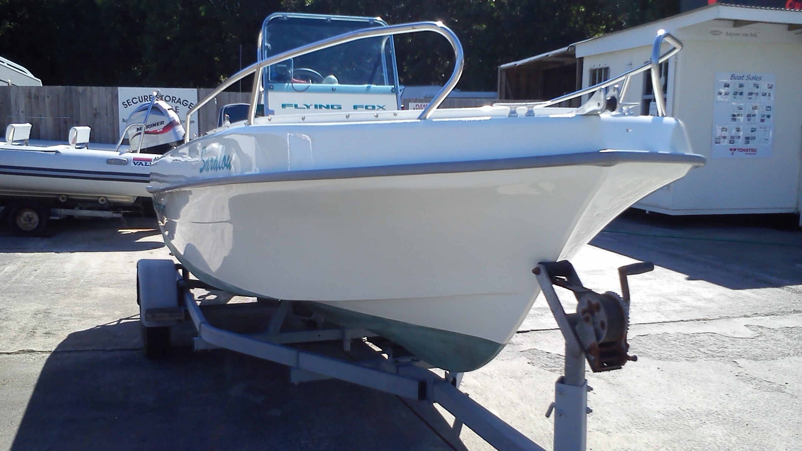 Flying fox fish sport boat for sale in cornwall in st for Center console sport fishing boats