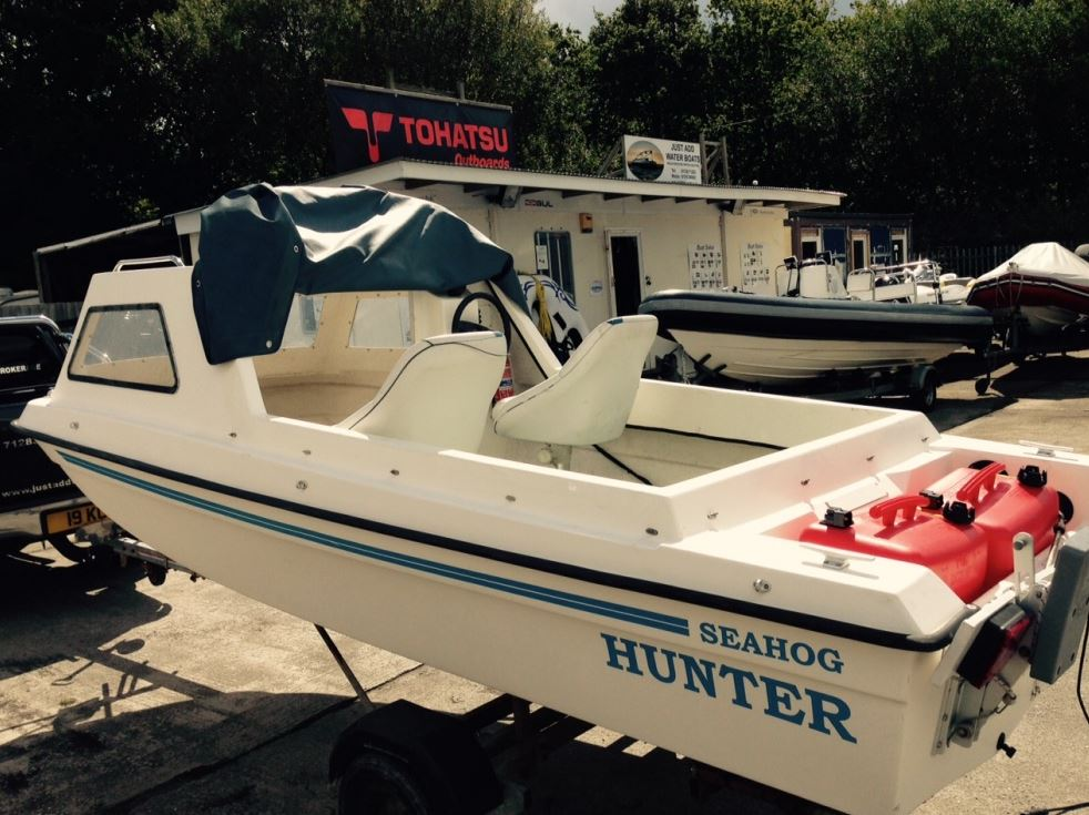 Seahog hunter 1992 cheap fishing boat for sale in cornwall for Cheap fishing boats for sale