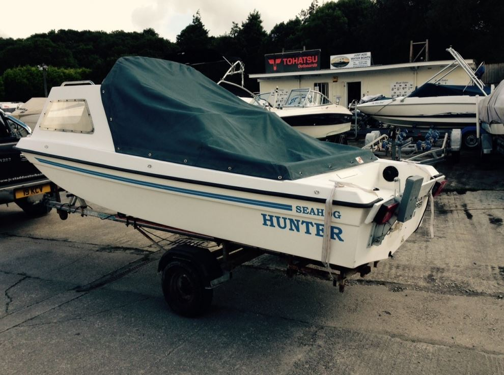 Seahog hunter 1992 cheap fishing boat for sale in cornwall for Fishing boat for sale