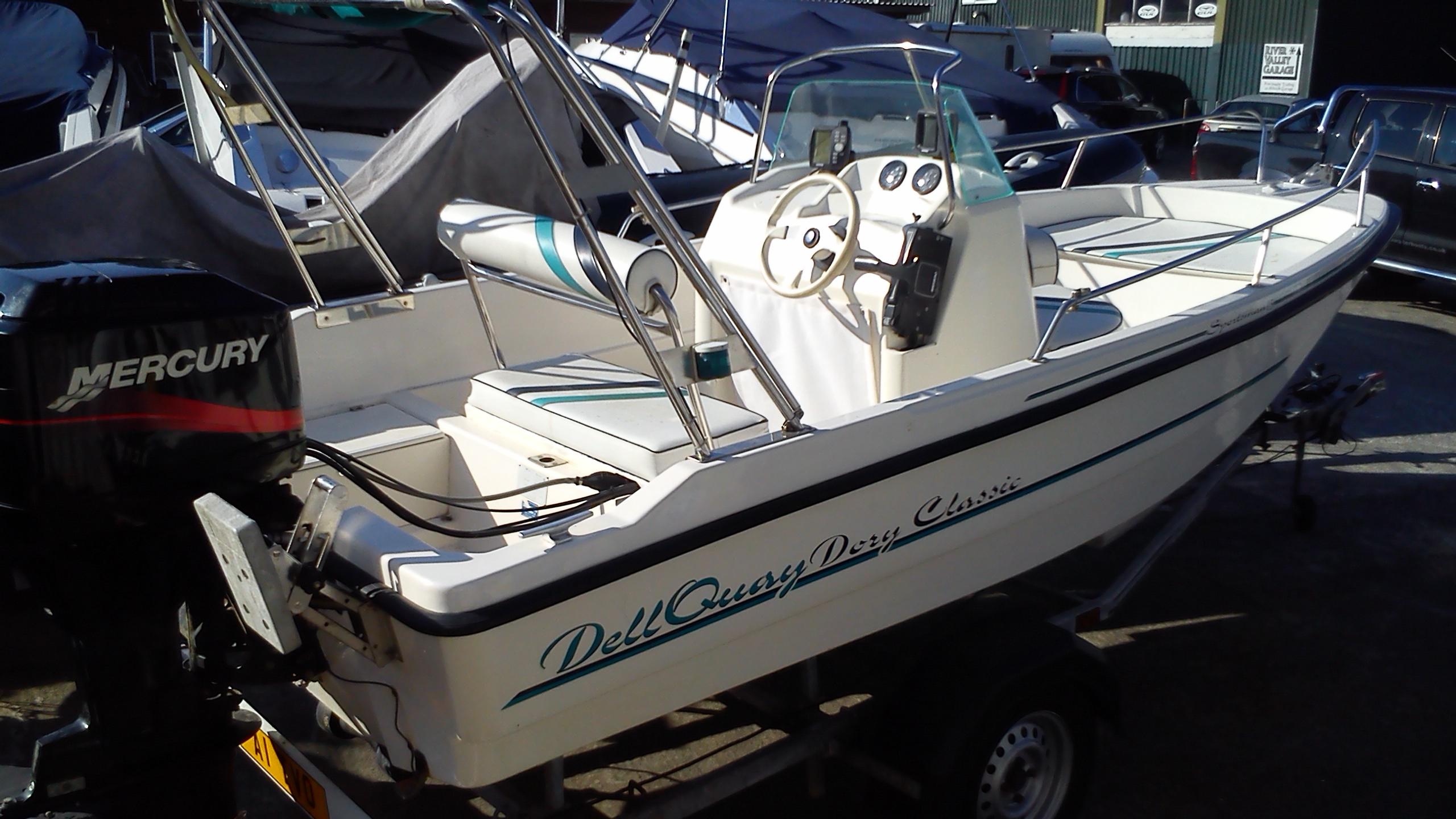 Fletcher Dell Quay Dory Sportsman 15 Boat For Sale