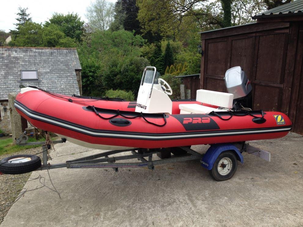 2009 Zodiac Pro 7 Rib Boat For Sale In Cornwall In St