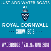 JAST ADD WATER BOATS CORNWALL SHOW 2018