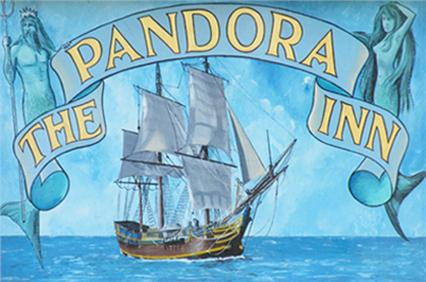 The Pandora Inn Cornwall