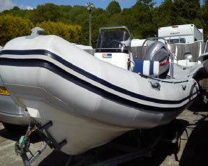 Valiant V-570 5.7m RIB Boat For Sale Cornwall