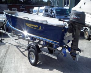 Quicksilver 450 DLX Aluminium Boat with 30HP Tohatsu for sale