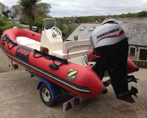 2009 Zodiac Pro 7 RIB Boat For Sale