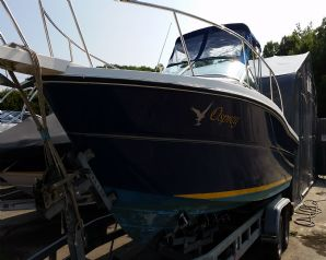2005 Karnic 2250 fast fisher 115hp boat for sale in Cornwall