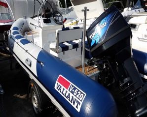 Valiant 520 RIB with Tohatsu 90dfi boat for sale in Cornwall