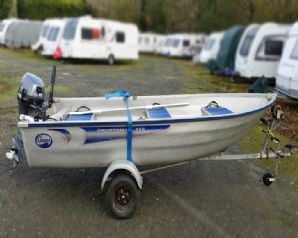 Linder Sportsman 355 aluminium open boat